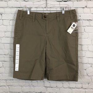 GAP Bermuda shorts brown size 10